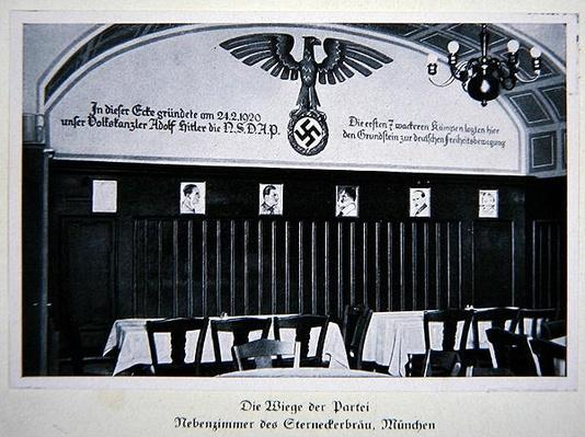 The 'Cradle' of the Nazi Party, The Sterneckerbrau Beer Hall, Munich