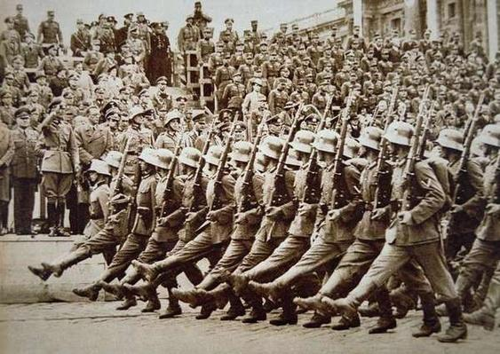 German Army Parade, Vienna, 1938