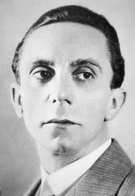 Portrait of Josef Goebbels, 1934