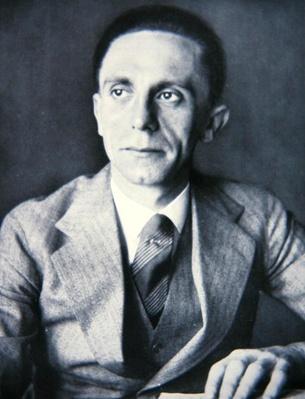 Portrait of Josef Goebbels, 1933