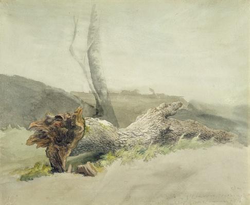 The Fallen Tree, c.1804