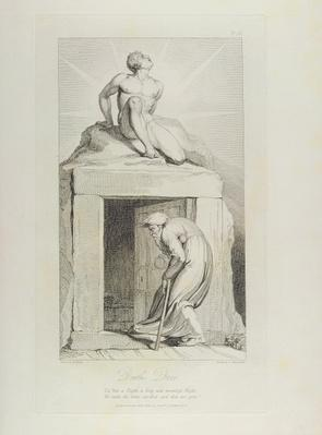 Death's Door, pl.12, illustration from 'The Grave, A Poem' by William Blake