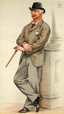 Coutts Lindsay, The Grosvenor Gallery from 'Vanity Fair' 3rd February 1883