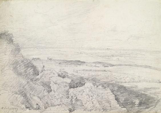Salisbury Plain from Old Sarum, 1829