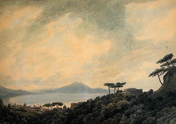 Bay of Naples from Capodimonte, 1790