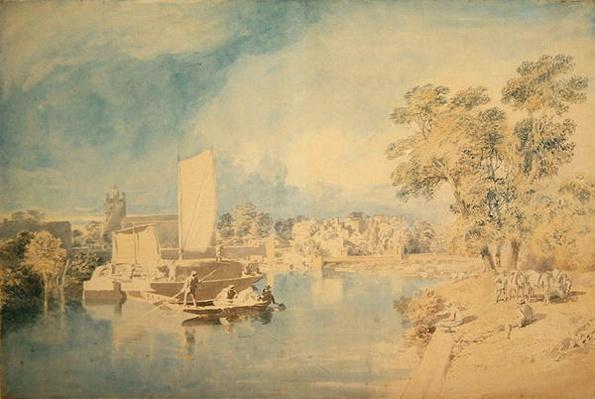 The Thames at Isleworth, c.1805-10