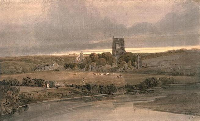 Kirkstall Abbey, Yorkshire - Evening