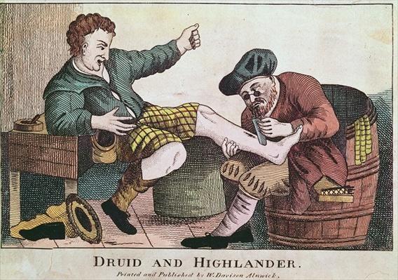 Druid and Highlander, 1815