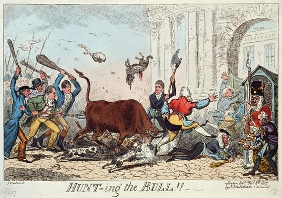 Hunting the Bull, 1817