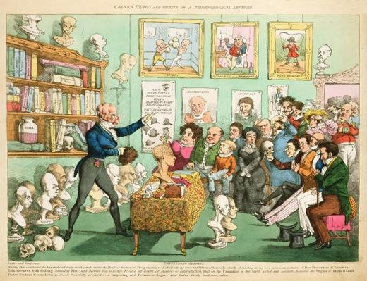 Calves' Heads and Brains; or a Phrenological Lecture, 1826