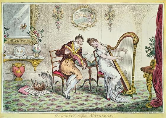 Harmony before Matrimony, 1805