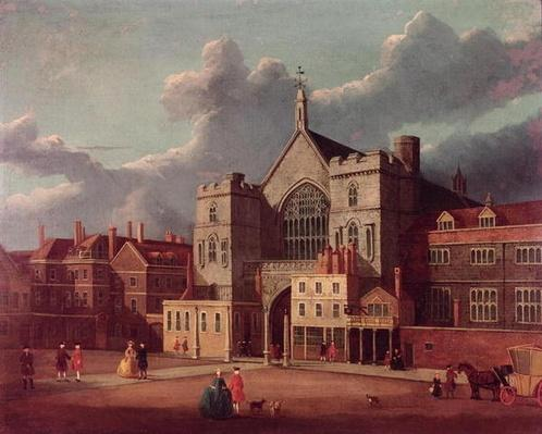 Westminster Hall and New Palace Yard