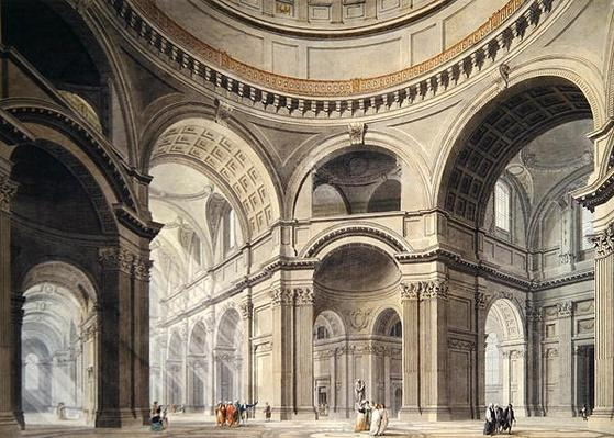 Interior of St. Paul's Cathedral, c.1792