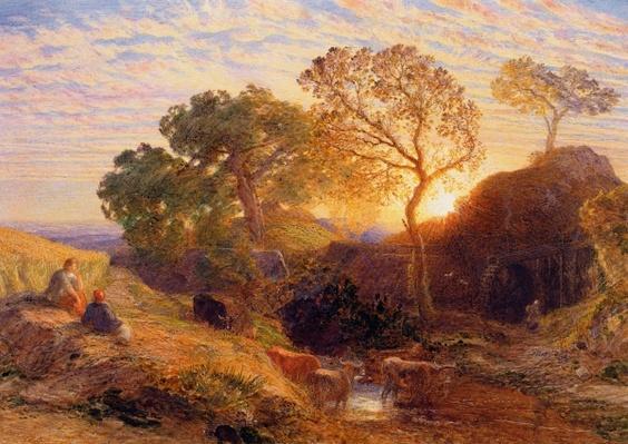 Sunset, c.1861