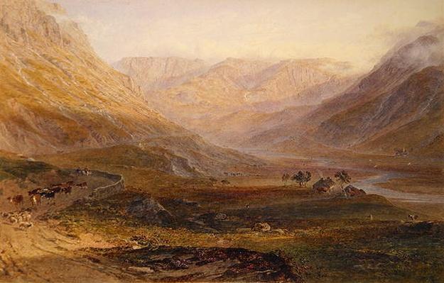 Nant Francon, North Wales, 1862