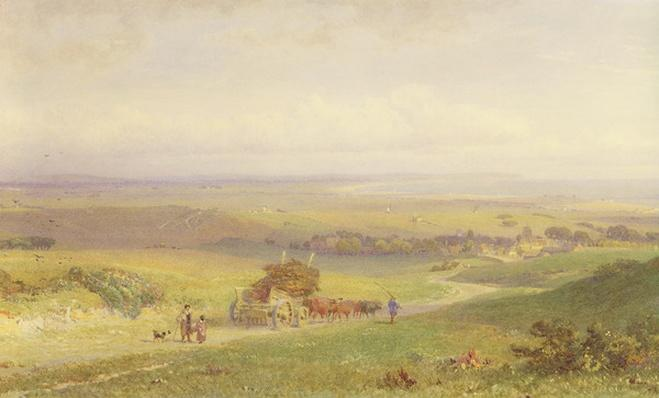Pevensey Bay, Sussex, 1868