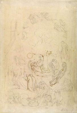 The Gambols of Ghosts According to Their Affections Previous to the Final Judgement, 1805-08