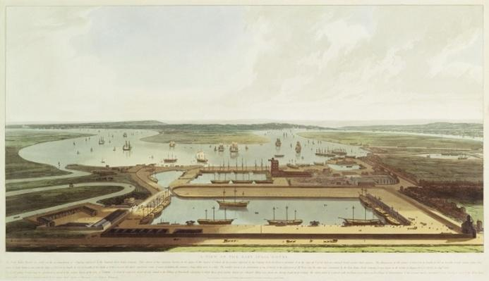 New Dock, Wapping, 1808