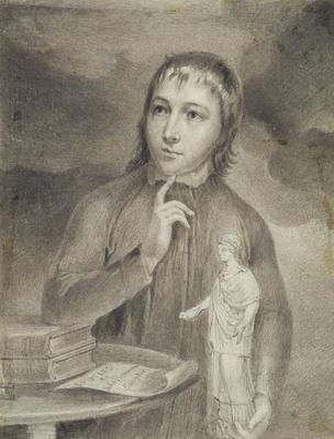 Thomas Alphonso Hayley, Half-Length Drawing, c.1800