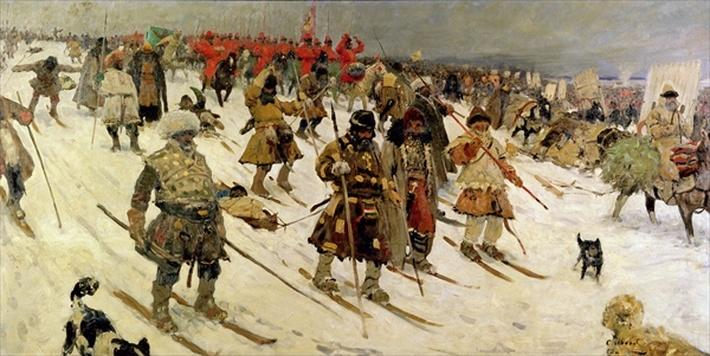 A military campaign in Russia during the 16th century, 1903
