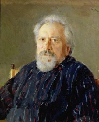 Portrait of Nikolay Leskov