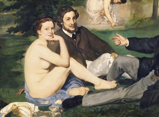Dejeuner sur l'Herbe, 1863