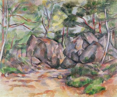 Woodland with Boulders, 1893