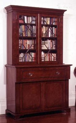 Bookcase, late 19th century