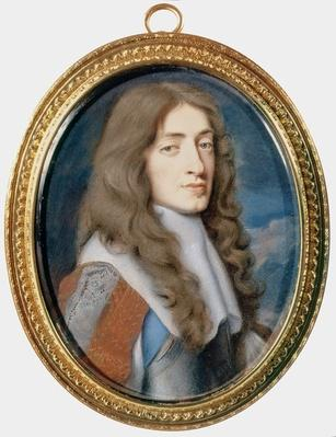 Miniature of James II as the Duke of York, 1661