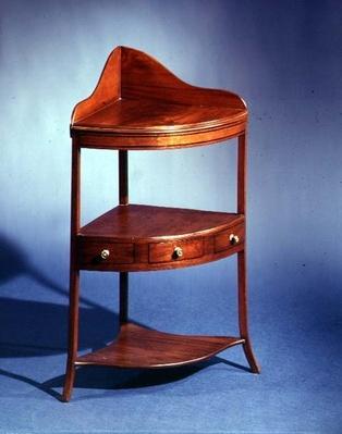 Corner stand, c.1805