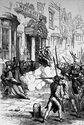 Attack on the Westgate Hotel, Newport on 4th November 1839