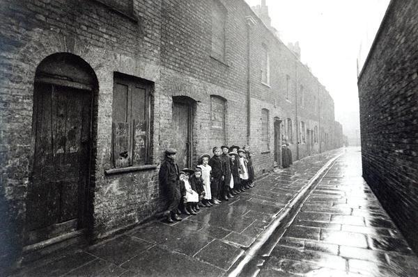London Slums, c.1900