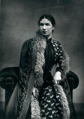 Mrs Humphry Ward, 1881