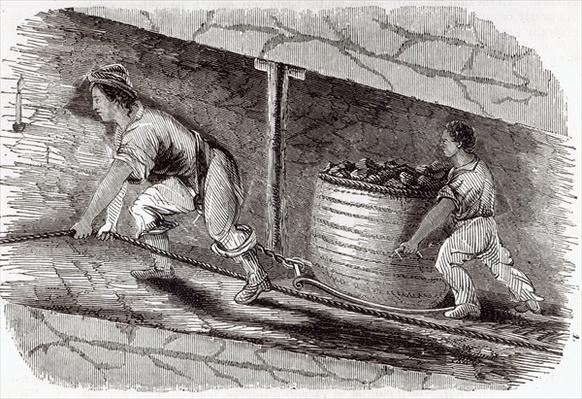 Female Drawer in a Coal-Pit at Little Bolton, 1842