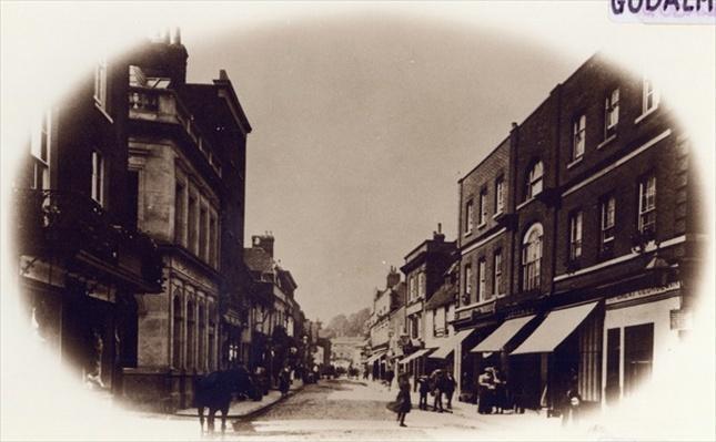 Godalming High Street, Surrey, c.1900
