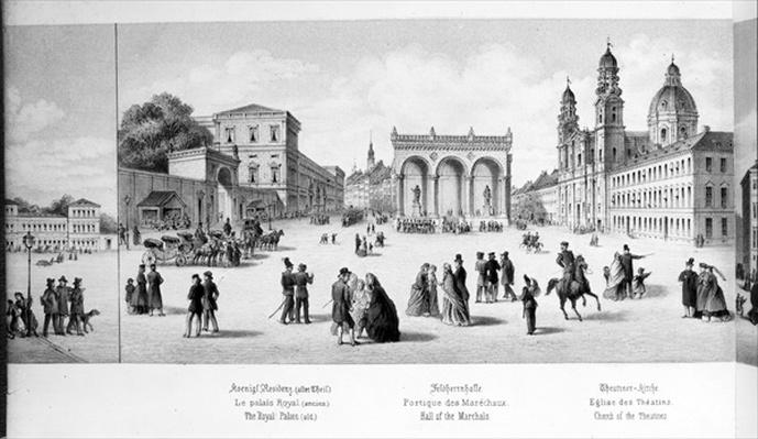View of Munich, 1869