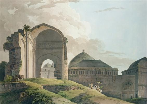 The Ruins of the Palace at Madurai, 1798