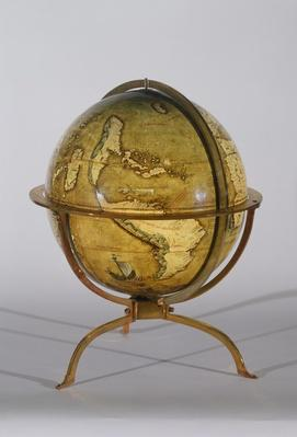 Terrestrial Globe, one of a pair known as the 'Brixen' globes, c.1522