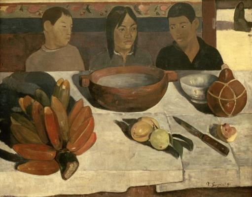 The Meal by Gauguin, Paul (1848-1903)