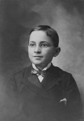 Harry Truman at age 13