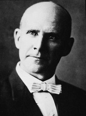 Headshot Portrait Of Eugene Debs | The Gilded Age (1870-1910) | U.S. History