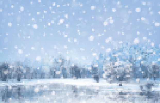 Four Seasons Scenery - Winter Landscape | Clipart