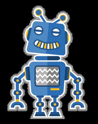 Cute robots   Clipart