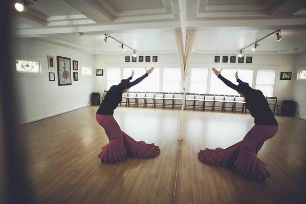 Flamenco Dancer La Tania in her Oakland Studio   Global Oneness Project