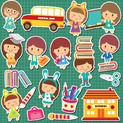 School Kids Clip Art | Clipart