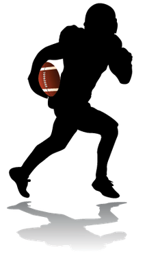 American Football Player | Clipart