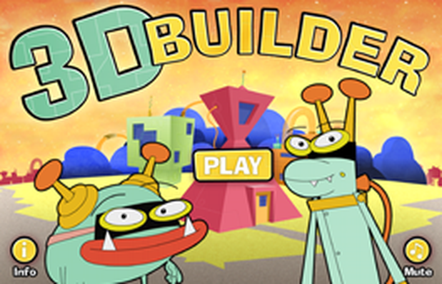 3-D Builder | Cyberchase