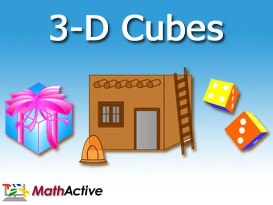 3-D Cubes (Spanish Voice)