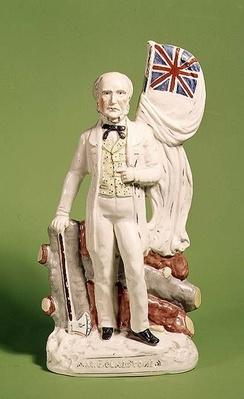 Staffordshire figure of Gladstone, 1873