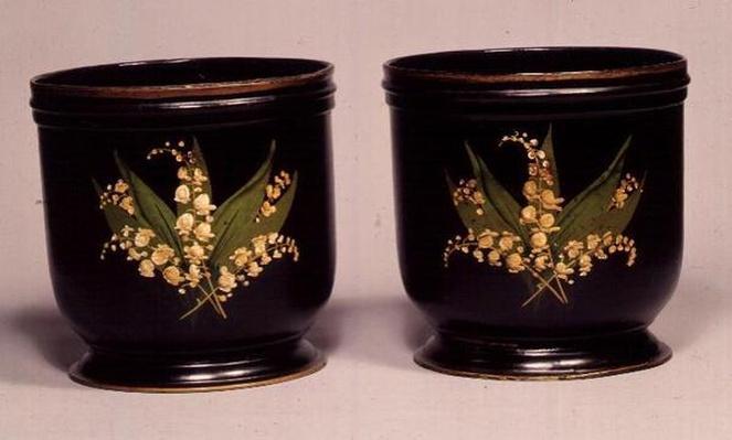 Cache-pots, 1870